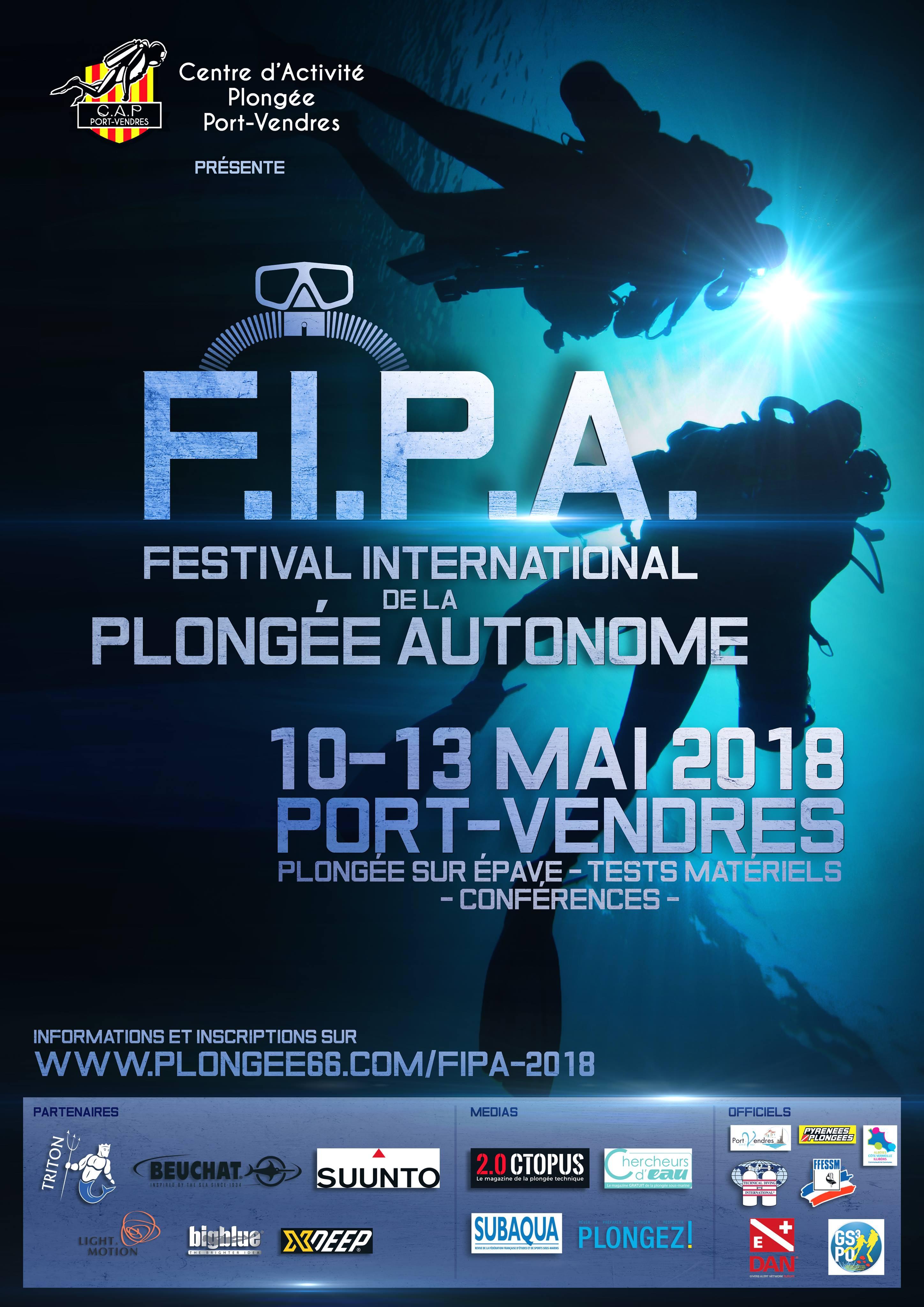 Festival International de la Plongée Autonome 2018