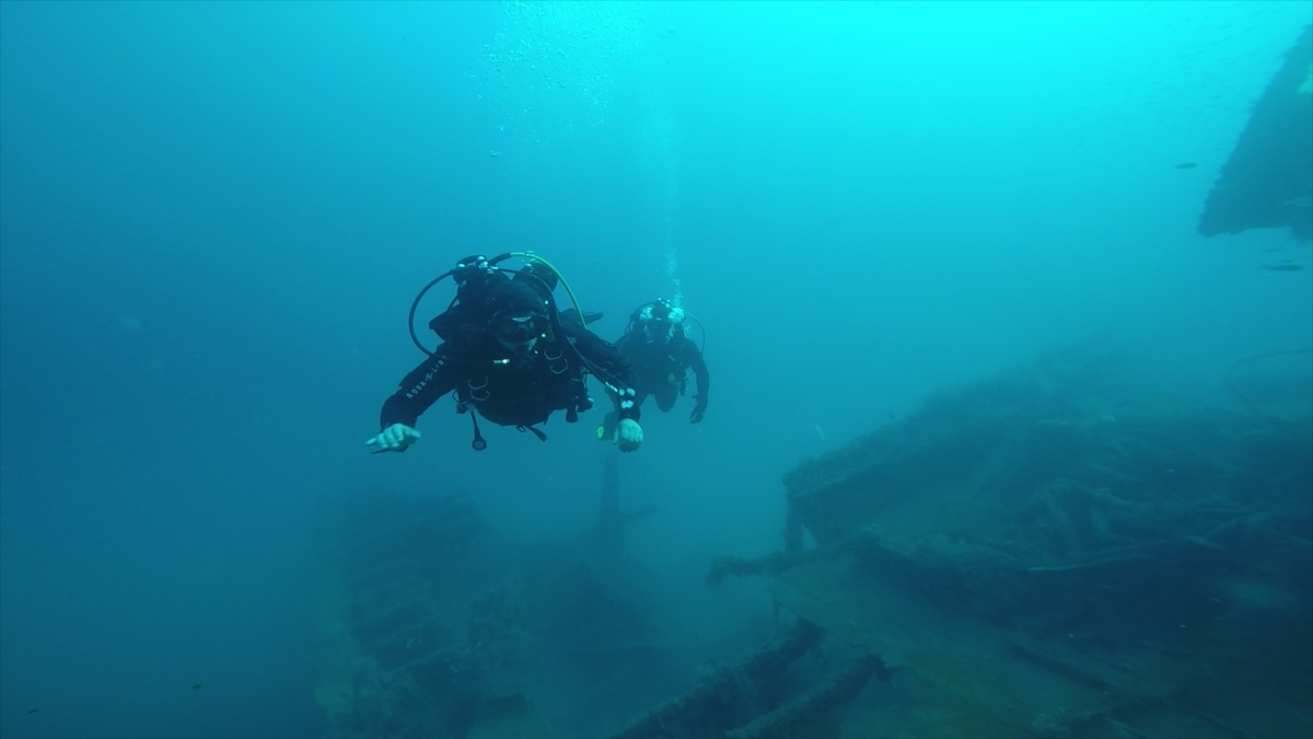 FIPA 2019 - plongée sur épaves