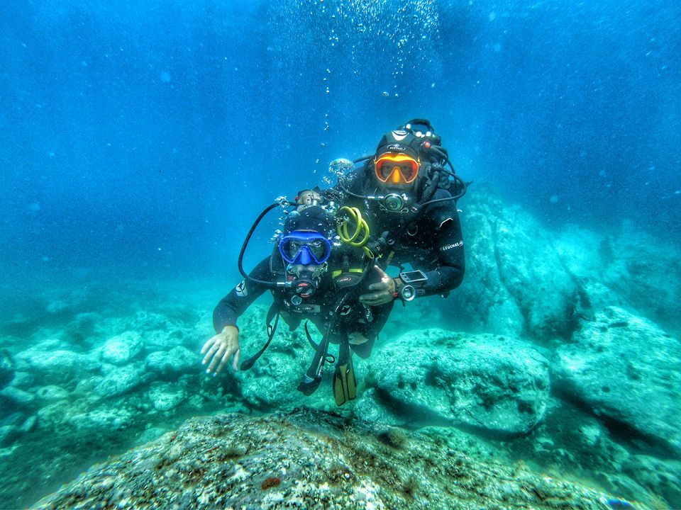 First Dive - Initiation