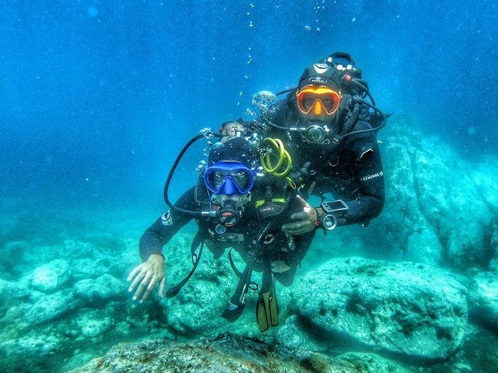 Scuba Diving First Dive