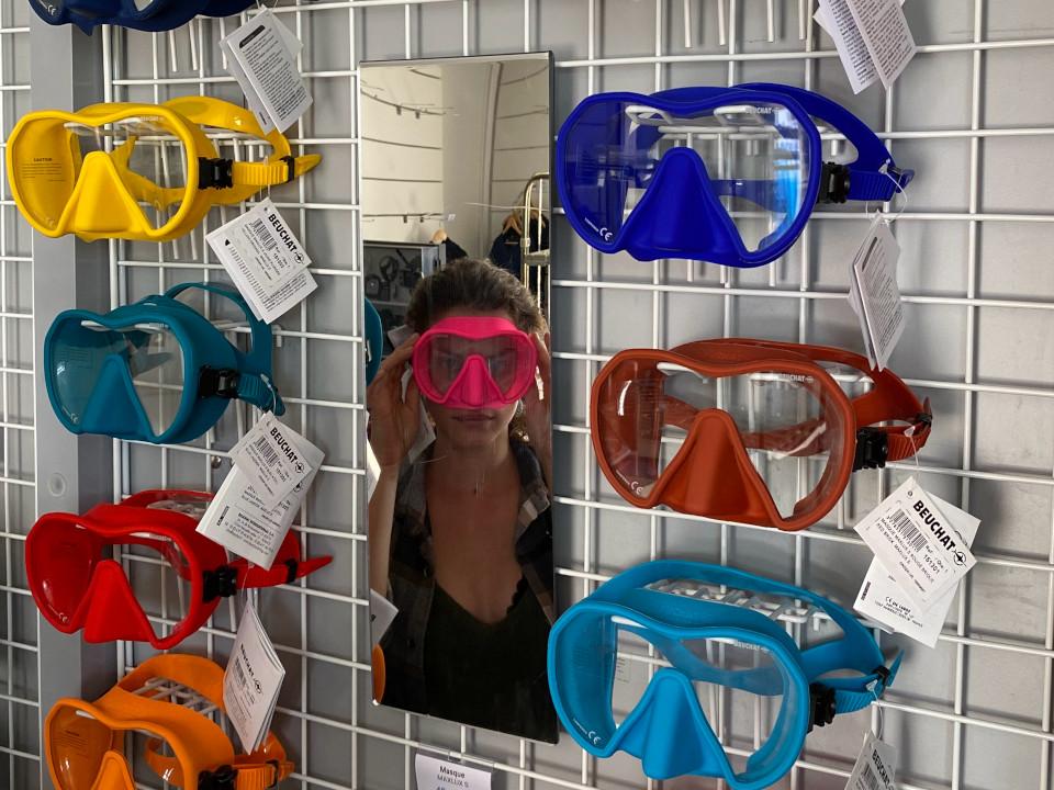 Espace boutique du CAP Port-Vendres