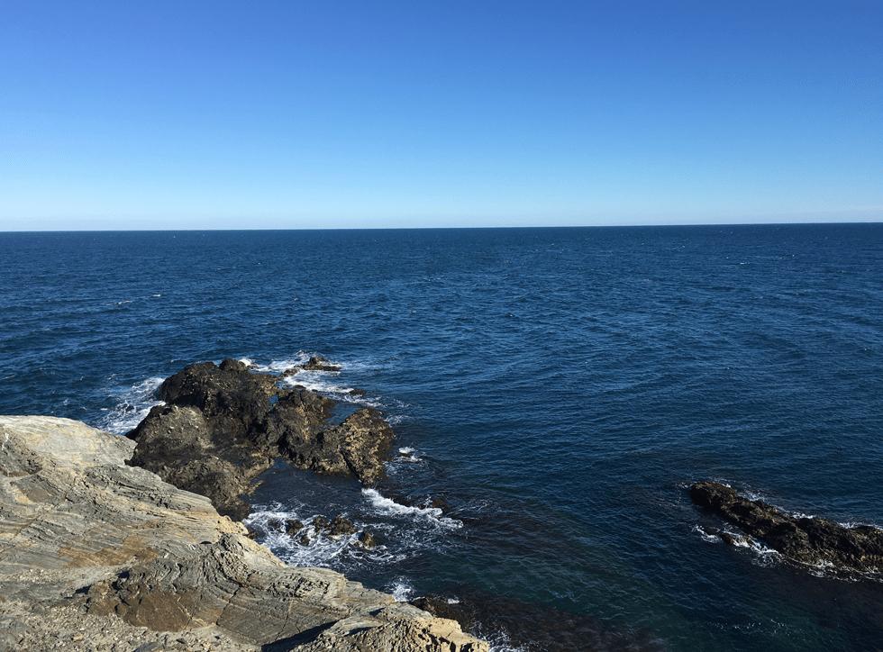Port-vendres : le cap Béar et son phare