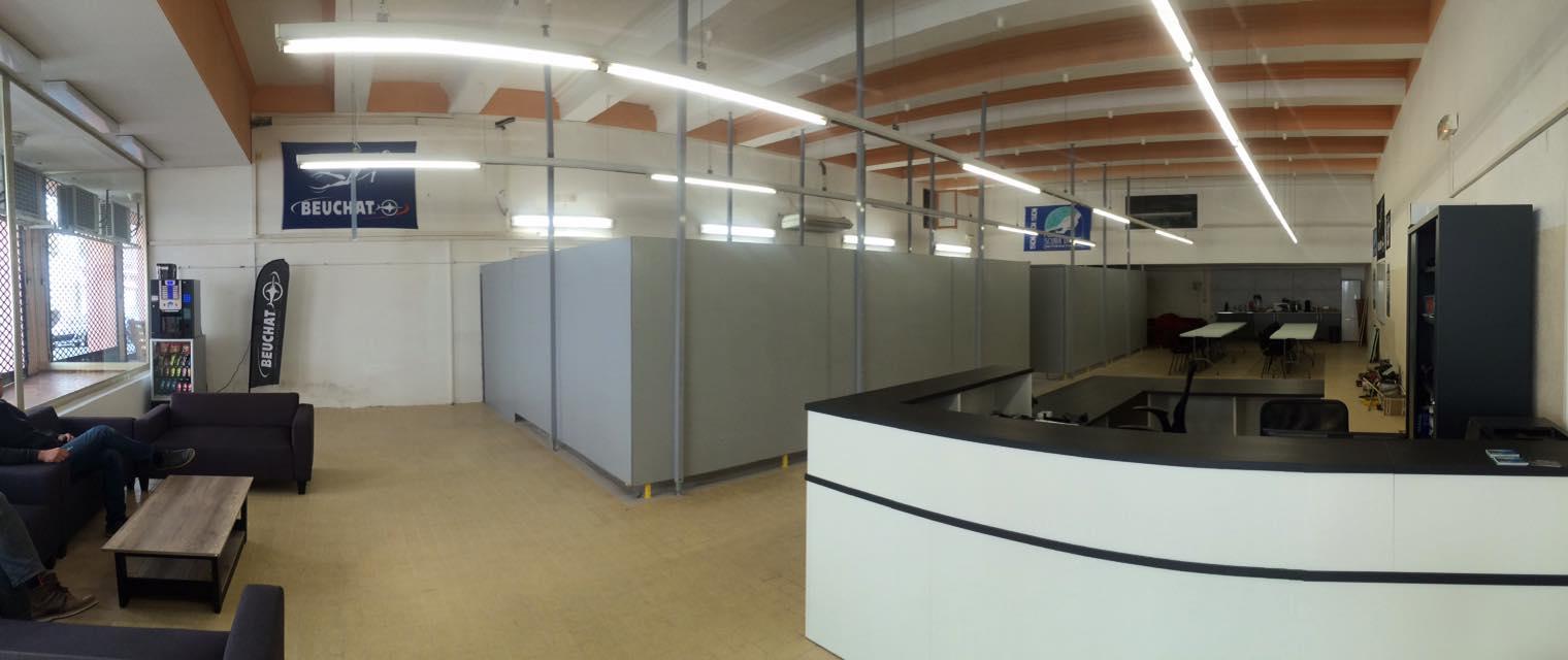 Bienvenue au Centre d'Activité Port-Vendres - vue générale du centre