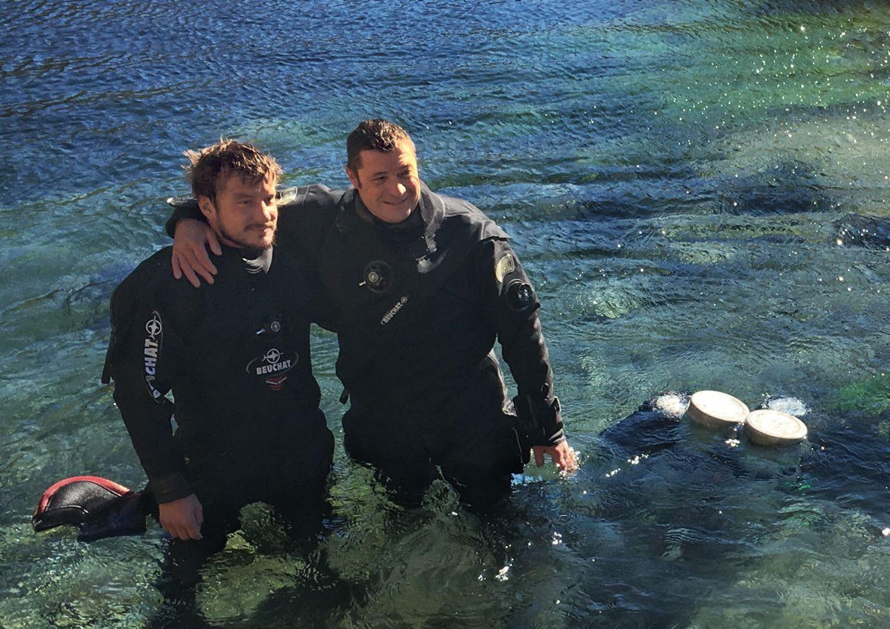 Jules et Cédric une passion commune de la plongée