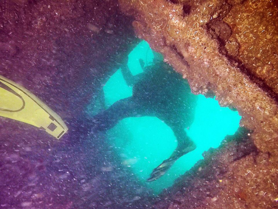 plongée exploration