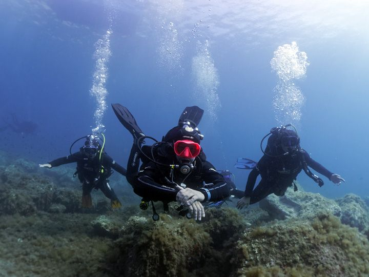 CAp Port-Vendres France : learn to dive