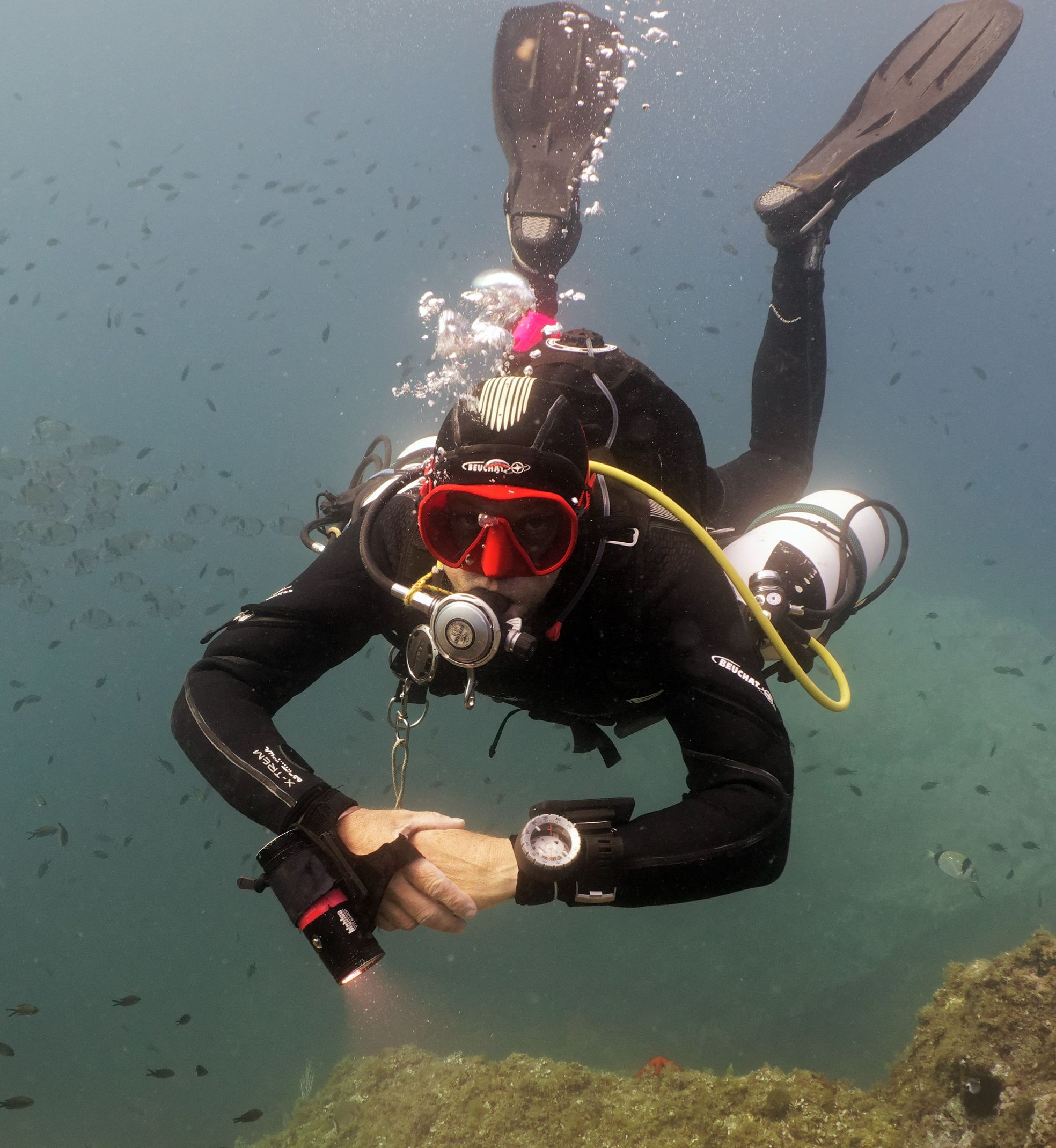 CAP Port Vendres - Technical Diver Training